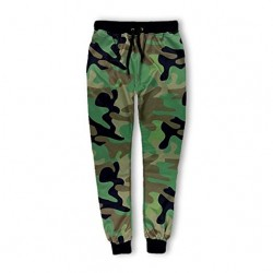 Hip Hop Style Army Camouflage Sweatpants Joggers