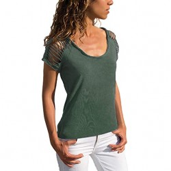 Short Sleeve T-Shirt Round Neck Top