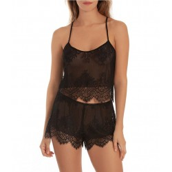 Lace Shorty Pajama Set