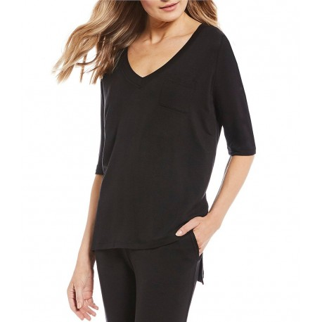 French Terry 3y4 Sleeve Lounge Top3