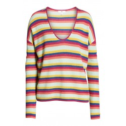 Stripe Thermal Stitch Sweater