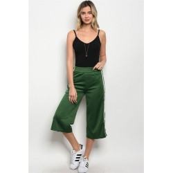HUNTER GREEN TRACK PANT