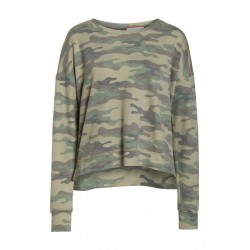 Camo Lounge Sweatshirt