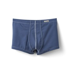 Boxers in petrol blue: Luxurious comfort