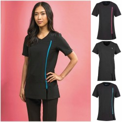 Spa Beauty Stretch Tunic Salon Beautician Uniform