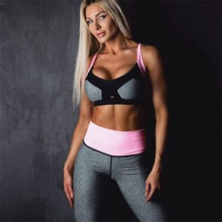 Women Gym Sport Bra Tops Leggings Stretch
