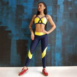 Yoga Set Breathable Sportswear Gym Clothing