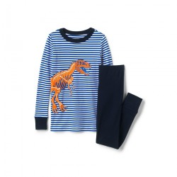 Cotton Pyjamas With Graphic