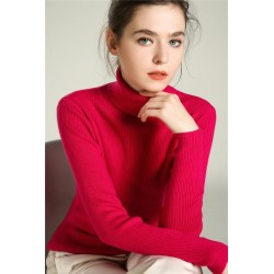 Women's Cashmere Turtleneck Pullovers