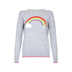 Grey rainbow jumper