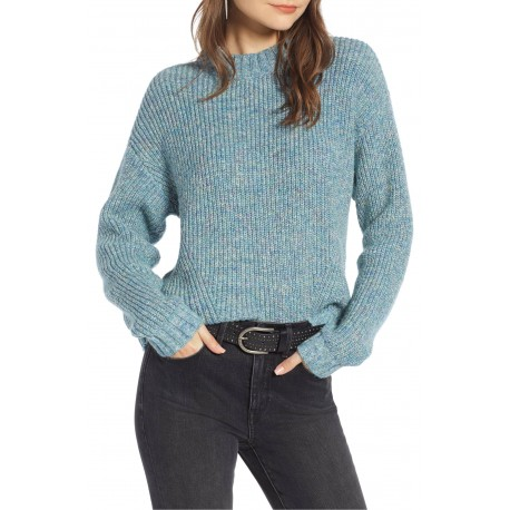 Stitch Cotton Blend Sweater
