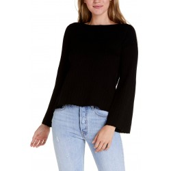 Bateau neck Swing Sweater