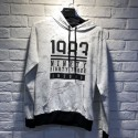 Printed Hoodie Made with Cotton or Tc