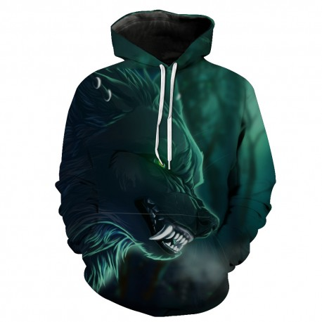 Men′ S Cotton Fleece Hooded Hoody Pull up Hoodie with Custom Printing Hoodie for Men