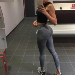 Wholesale Custom Polyester and Spandex Slimming Tight Women Yoga Pants, Custom Fitness Leggings