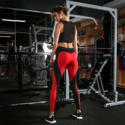 Heart Shaped High Waist Women Fitness Sportswear Yoga Pants Leggings