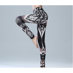 OEM New Fashion Pattern Fitness Lady′s Sport Yoga Pants Leggings