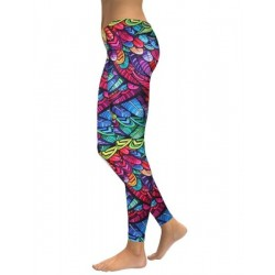 Custom Sublimation Ladies Tights Yoga Pants/Custom Tight Yoga Leggings with Your Design