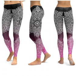 OEM Custom Sublimation Printing Lycra Yoga Pants Custom Athletic Spandex Legging