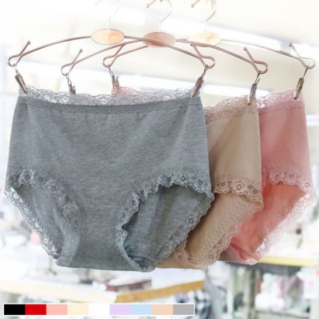 Women′s Middle-Waisted Crotch of Cotton Pure Cotton Underwear