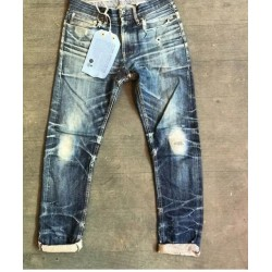 Vintage Relaxed Fit Selvedge Jeans High Quality Mens Selvedge Jeans