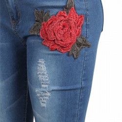 Lady Denim Woman Jean