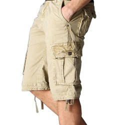 Men′s Casual Loose Fit Cargo Shorts Pants