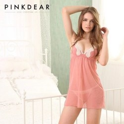 SEXY COMFORTABLE VOGUE LINGERIE PINK DEAR FOR WOMEN SEXY STYLE