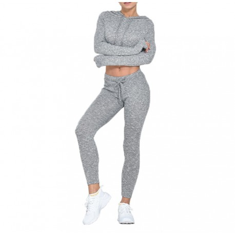 Cotton exercise tracksuit