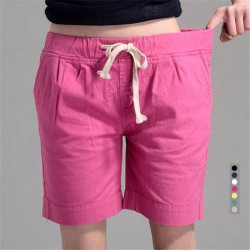 Elastic Waist Short For Women