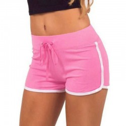 Yoga Drawstring Cotton Shorts