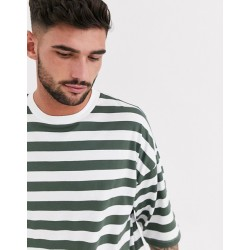 stripe t-shirt in organic cotton