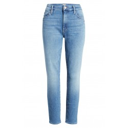 High Waist Crop Skinny Jeans