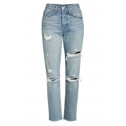 Rigid High Waist Skinny Jeans