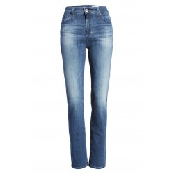 High Waist Slim Straight Leg Jeans