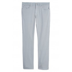 Slim Straight Leg Twill Pants