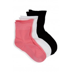 3-Pack Sporty Shortie Socks
