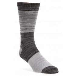 Mens Ultrasoft Marled Blocked Socks