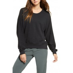 Carey Crew High Low Sweatshirt