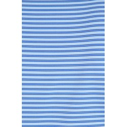 Stripe Stretch Polo