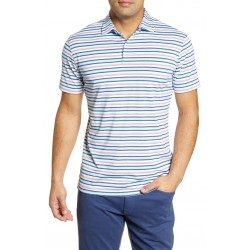 Stripe Performance Polo