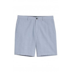 Slim Fit Stripe Foulard Shorts