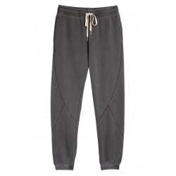Paneled Cotton Sweatpants