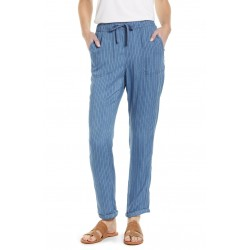 Lghtweight Drawcord Twill Pants