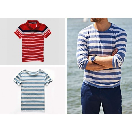 MENS STRIPED T SHIRT