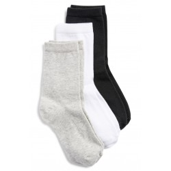 Cotton Blend Crew Socks