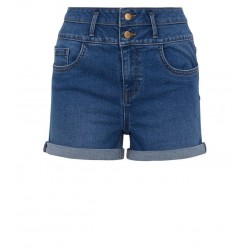blue-roll-denim-shorts
