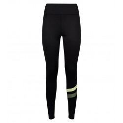 Green Stripe Sports Leggings