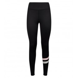 Pink Stripe Sports Leggings