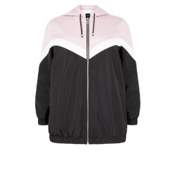 Block Fleece-Lined Windbreaker